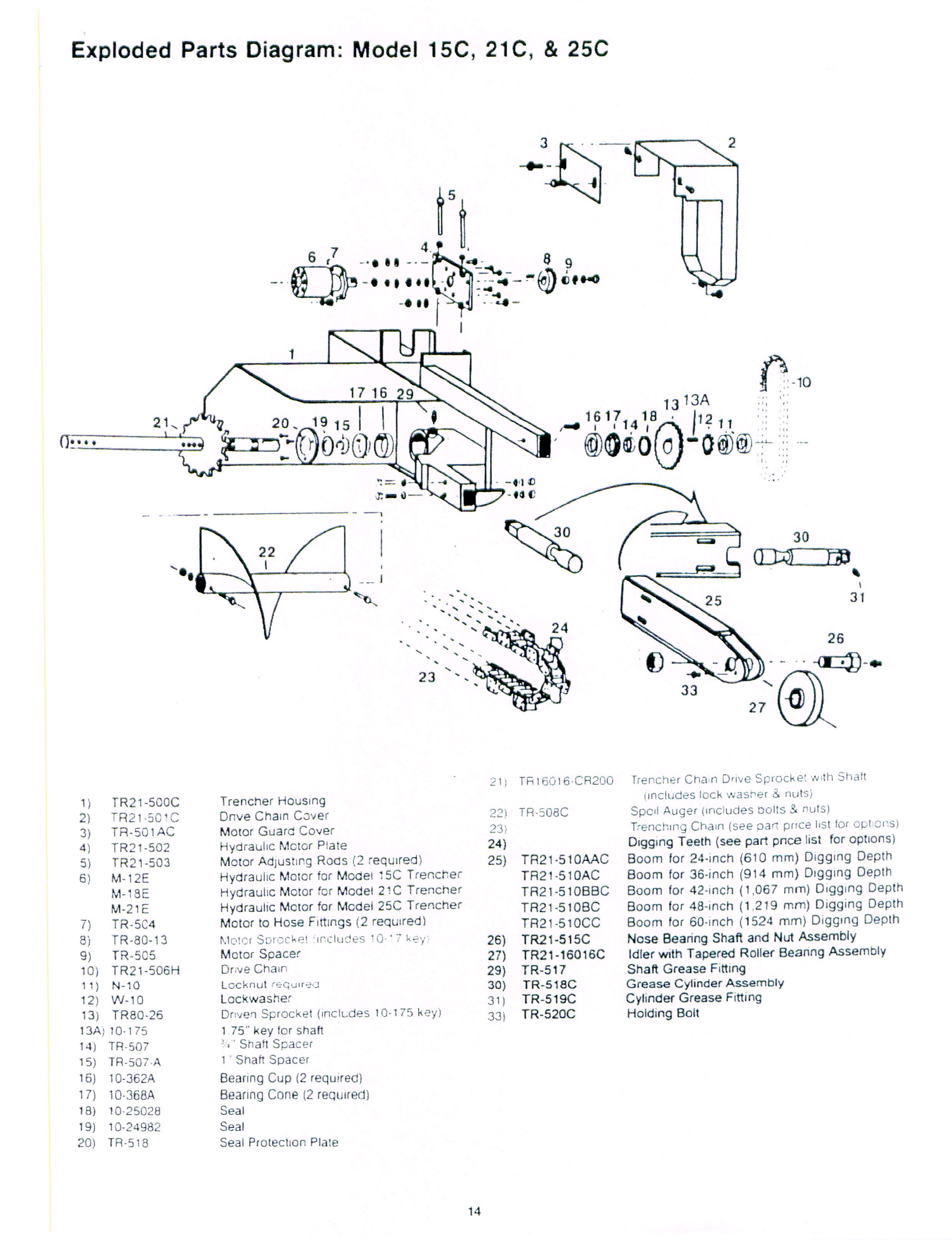 trencher attachments lowe ss210 wiring diagram lowe boat trailer wiring diagram